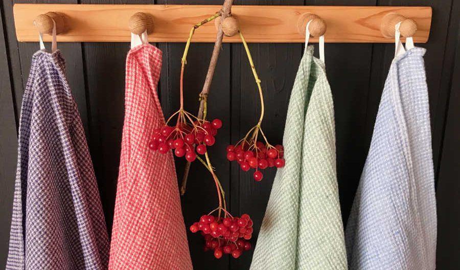 Кухонные полотенца умягченные