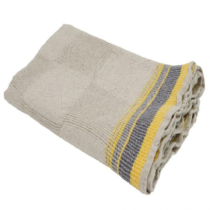 Полотенце банное из умягченного льна Ямайка