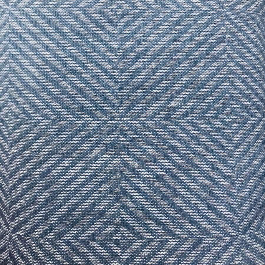 Декоративная ткань из 100% льна Серо-голубой твид
