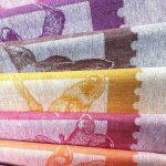 Кухонные полотенца из льна - набор Неделька