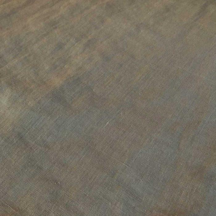 Умягченная льняная ткань Теплый серый