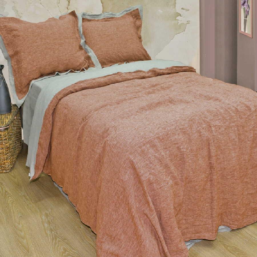 Умягченное постельное белье изльна Бохо