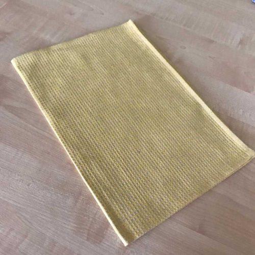 Полотенце льняное кухонное Голубое 1