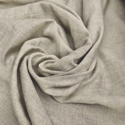 Ткань льняная умягченная Бежевая 2